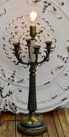 Adjule Funky Repurposed Vintage Typewriter Lamp Lighting Underwood Functional Art Pinterest