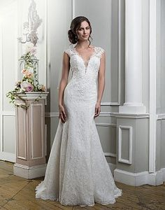 Sultry and Chic Wedding Dresses | Lillian West 2016