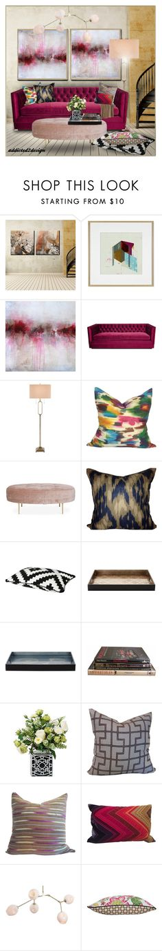 """""""You're Worth it!!!!!!"""" by addicted2design ❤ liked on Polyvore featuring interior, interiors, interior design, home, home decor, interior decorating, Ready2hangart, Williams-Sonoma, Kim Salmela and JAlexander"""