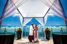 Gorgeous, exotic destination wedding. Photo by: Sarani Photography