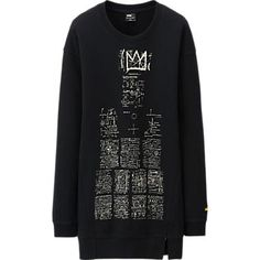 WOMEN SPRZ NY L/S LONG SWEAT SHIRT (JEAN-MICHEL BASQUIAT)