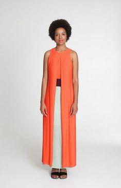 Poppy Maxi Dress Tricolour