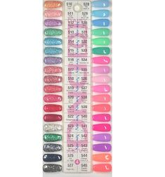 DND Color Swatch Set *missing swatch 4 Nail colors in 2019 nail polish 8 in 1 - Nail Polish Dnd Nail Polish, Essie Nail Polish Colors, Glitter Gel Polish, Gel Nail Colors, Manicure Y Pedicure, Gel Nails, Mani Pedi, Black And White Nail Designs, Winter Nail Designs