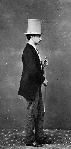 Young Gentleman, 1865 by Alinari