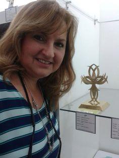 Feliz de mostrarles mi pieza para la Expo sueños de metal escuela de Joanna Palacios