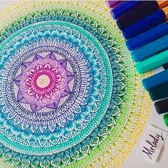 Image de drawing, art, and mandala