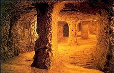Derinkuyu Yeraltı Şehri in Nevşehir, Nevşehir  http://www.ancient-wisdom.com/turkeyderinkuyu.htm