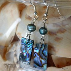 Direct From the Sea Earrings by MangoTease
