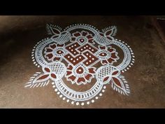 Rangoli Kolam Designs, Simple Rangoli, Padi Kolam, Roxy, Places, Youtube, Home Decor, Homemade Home Decor, Interior Design