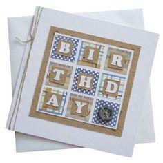 Handmade Male Birthday Card 180