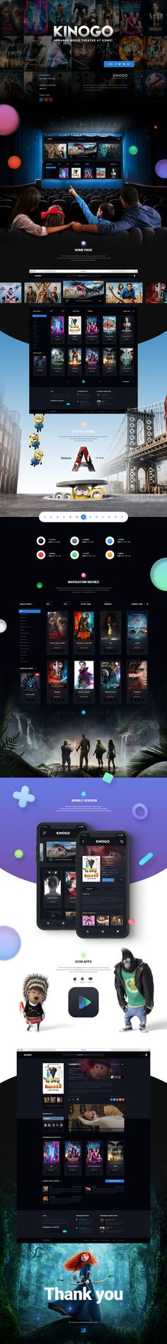 We submit to your attention the new concept of Kinogo online movie theater! We have prepared for you absolutely new design more convenient and clear even not to the experienced user.