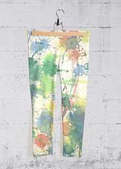 Splash of Joy: What a beautiful product! Capri Leggings, Capri Pants, Pink Lake, Yoga Capris, Shining Star, Abstract Flowers, Blue Brown, Original Artwork, The Originals