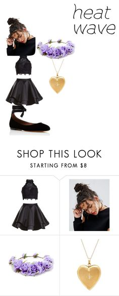 """Idk"" by wiggywiggy05-eliza ❤ liked on Polyvore featuring Alyce Paris, ASOS, Forever 21 and Tabitha Simmons"