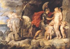 Peter Paul Rubens Perseus Freeing Andromeda oil painting reproductions for sale