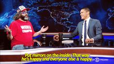 The Daily Show, Everyone Else, That Way, Baseball Cards, Happy, Sports, Sport, Ser Feliz, Happiness