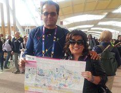 Esperienza eccezionale per Edda Migliori. All'Expo 2015 la giornalista abruzzese insieme al marito Gabriele Salini è riuscita a visitare 70 padiglioni in tre giorni