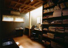 専門家:長浜信幸が手掛けた、半地下の書斎(庭を挟んだ分棟型の2世帯住宅)の詳細ページ。新築戸建、リフォーム、リノベーションの事例多数、SUVACO(スバコ)