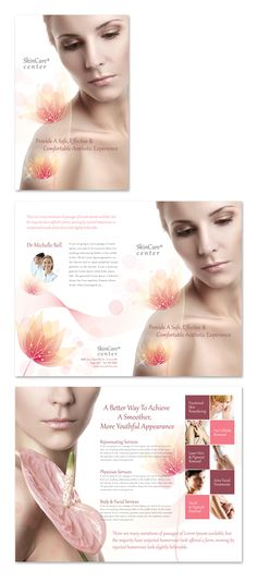 Skin Care Clinic Brochure Template http://www.dlayouts.com/template/300/skin-care-clinic-brochure-template