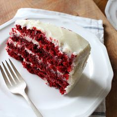 My love for Red Velvet Cake began many, many years before I moved to the South, where it is probably the most popular cake of all time....