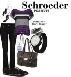 """""""The Piano Man - Schroeder"""" by unusualsidekick on Polyvore"""