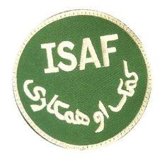 MMB Aufnäher ISAF / mehr Infos auf: www.Guntia-Militaria-Shop.de