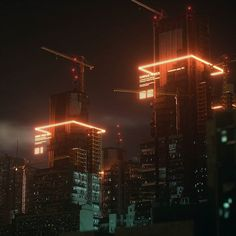 "gvokerart: "" Infrastructure Race - Neo Tokyo & Future slums kit by: "" Cyberpunk Aesthetic, Cyberpunk City, Arte Cyberpunk, Futuristic City, Cyberpunk Tattoo, Cyberpunk Fashion, Night Aesthetic, City Aesthetic, Types Of Photography"