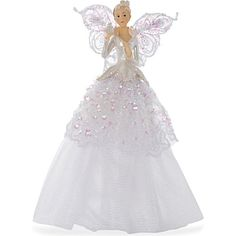 GISELA GRAHAM Angel Christmas tree topper 23cm
