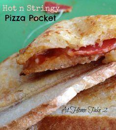 Pizza Pocket Sandwich
