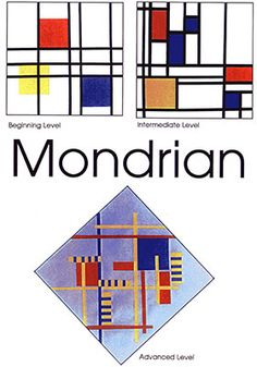 Mondrian Art Projects for Kids:  Your students will discover the abstract art of Dutch painter, Piet Mondrian.  His balanced compositions expose the children to a new style of art in which lines and geometric shapes are used to express mood and feeling.  In their classrooms, the children create Mondrian-type balanced compositions.