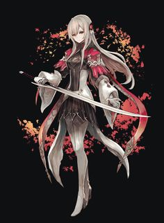 Female Character Design, Character Concept, Character Art, Fantasy Characters, Female Characters, Anime Characters, Cool Anime Girl, Anime Art Girl, Female Knight