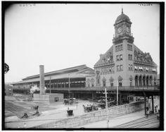 Richmond, Virginia Main Street Station early 1900s