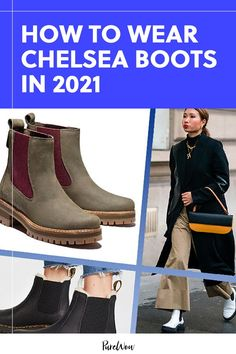 Here, seven stylish women show us how to wear Chelsea boots in 2021. #chelseaboots #boots #shoes Snow Boots, Winter Boots, Rain Boots, Lace Up Boots, Leather Boots, Knee High Boots, Ankle Boots, Waterproof Shoes, Platform Boots