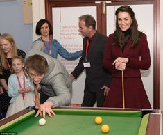 Duchess of Cambridge visits a children's charity in Wales #dailymail