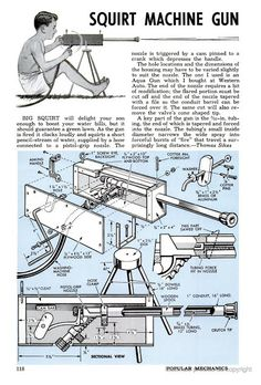 Diy Projects To Build, Backyard Projects, Outdoor Projects, Fun Projects, Nerf, Cool Things To Build, Air Cannon, Little Bit, Popular Mechanics
