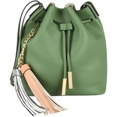 Nali Cross-body Bag (3.320 RUB) ❤ liked on Polyvore featuring bags, handbags, shoulder bags, military green, green crossbody purse, olive green purse, green crossbody, olive green handbag and green handbags