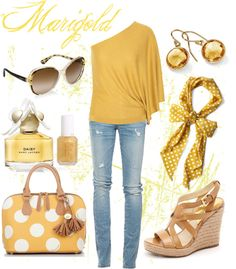 Marigold, created by humblelaura on Polyvore