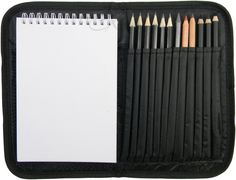 Amazon.com: Compact and Portable Sketch Folio 1 Drawing Kit with Art Supplies: Artists Drawing Sets: Artwork