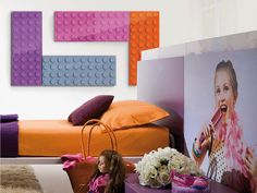 Warm up your house with the made in Italy radiators made by Scirocco H, now available on Viadurini:Modern lego brick electric radiator Brick made in Italy by Scirocco H. Wall Radiators, Decorative Radiators, Modern Decor, Modern Design, Lego Wall, Electric Radiators, Towel Warmer, Kids House, Interiores Design