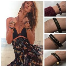Spring trend - layering bracelets and bangles Boho is so in right now, especially layering bracelets and bangles! Check out my closet to start your collection and start layering up this summer! All jewelry is buy one get one free :) Happy poshing ❤️ Jewelry Bracelets