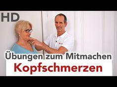 Kopfschmerzen Übungen zum Mitmachen // Kopfschmerz, Migräne, Clusterkopfschmerzen - YouTube
