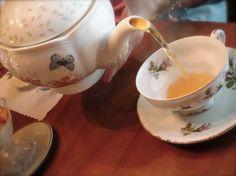 Tea tastes better in china....no joke!