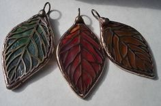 Stained glass makes great jewelry