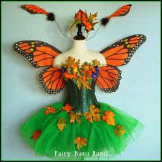 Adult Fairy Costume  size medium  MONARCH by FairyNanaLand on Etsy, $320.00
