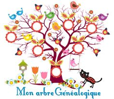 MON ARBRE EN COULEUR - 1 et 2 et 3 DOUDOUS * PATRONS* PATTERNS * GABARITS FETE A THEMES POUR ENFANTS Family Tree For Kids, Blank Family Tree, Family Tree Art, Gifts For Family, Tree Wall Murals, Tree Wall Art, Art Floral, Theme Nature, Display Family Photos