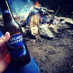 True country partyin...Fire, Beer and someone to kiss, doesn't get any better then this.