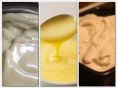 A mártásokkal akármilyen húst és más ételt ízletesebbé tehetsz! A család nem fog ráunni az ételekre, ha mindig változatossá teszed őket, ezekkel a finomságokkal! Jobb és finomabb házilag elkészíteni. Majonéz készítése Négy tojás sárgáját edénybe tesszük, gyengén sózzuk és egy fél citromlevével együtt jól elkeverjük. Állandó keverés mellett hat deci[...] Hungarian Recipes, Food Humor, Gravy, Paleo, Food And Drink, Cooking Recipes, Pudding, Ice Cream, Side Dishes