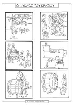 szőlő - must - bor 3 Fall Arts And Crafts, Autumn Crafts, Autumn Art, Crafts For Kids, Wine Gadgets, Christmas Coloring Pages, Fall Is Here, Autumn Activities, Too Cool For School