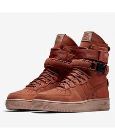 best website 07299 19d6a Nike Sf Air Force 1 High Deep Khaki Shoes Sale UK