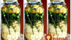 Super Tonic: Tento zázrak v pohári pomáha pri zapálenom hrdle, horúčke aj infekcii – na rok stačí 1 pohár! Good Hair Day, Spice Mixes, Natural Medicine, Organic Beauty, Vegan Vegetarian, Pickles, Cucumber, Zucchini, Cool Hairstyles