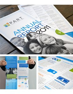 PART Annual Report Design by Gravity